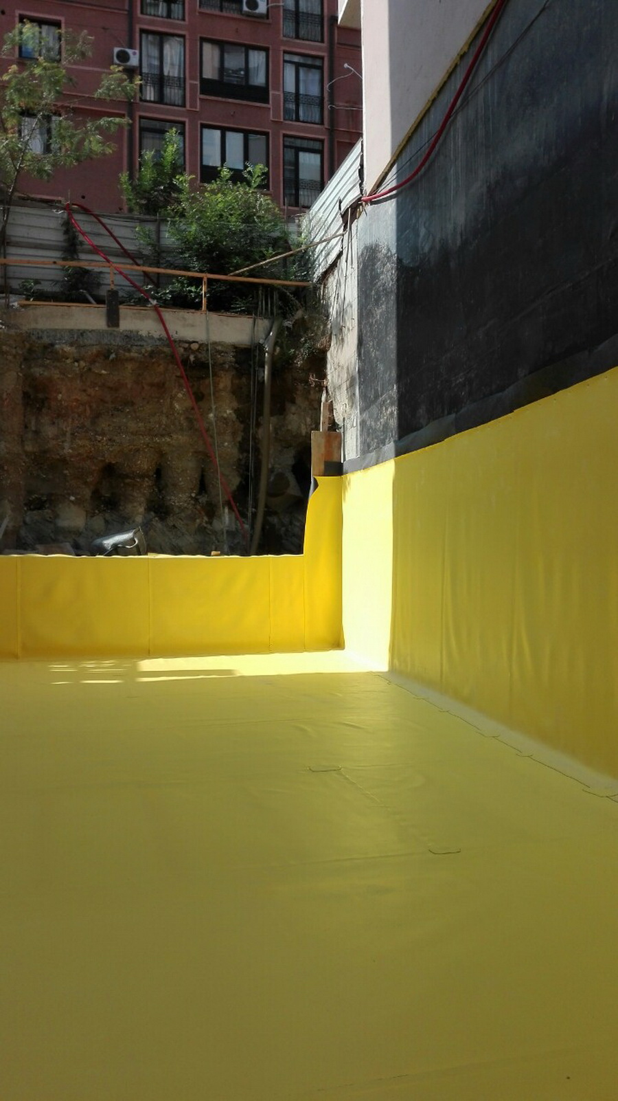 Waterproofing works Blagoj Mehandziski