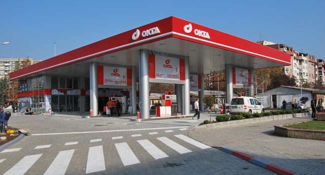 Petrol station Okta - Karposh, Skopje